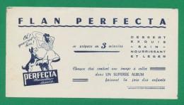 Buvard - FLAN PERFECTA - Buvards, Protège-cahiers Illustrés
