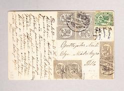 Finnland RAAHE 20.7.1921 Ansichtskarte Nach Pollo - Finlande