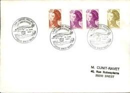 FRANCE - Enveloppe Voyagée En Poste Navale - Détaillons Collection - A Voir - Lot N° 20663 - Postmark Collection (Covers)