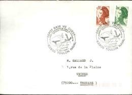 FRANCE - Enveloppe Voyagée En Poste Navale - Détaillons Collection - A Voir - Lot N° 20665 - Postmark Collection (Covers)