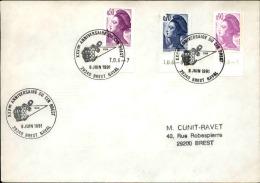 FRANCE - Enveloppe Voyagée En Poste Navale - Détaillons Collection - A Voir - Lot N° 20668 - Postmark Collection (Covers)