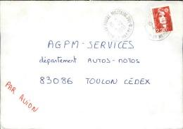 FRANCE - Enveloppe Voyagée En Poste Navale - Détaillons Collection - A Voir - Lot N° 20673 - Postmark Collection (Covers)