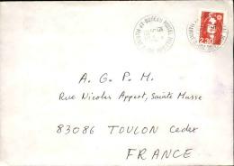 FRANCE - Enveloppe Voyagée En Poste Navale - Détaillons Collection - A Voir - Lot N° 20674 - Postmark Collection (Covers)