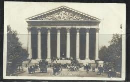 CARTOLINA 1904 PARIS EGLISE DE LA MADELEINE CARD CARTE POSTALE - Churches