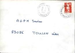 FRANCE - Enveloppe Voyagée En Poste Navale - Détaillons Collection - A Voir - Lot N° 20675 - Postmark Collection (Covers)