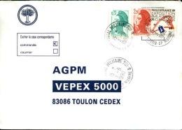 FRANCE - Enveloppe Voyagée En Poste Navale - Détaillons Collection - A Voir - Lot N° 20677 - Postmark Collection (Covers)