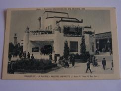 """Paris - Exposition Universelle Des Arts Décoratifs, 1925 - Pavillon De """"la Maitrise"""" - Galerie Lafayette - Mostre"""