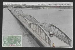 SAINT LOUIS - Pont Faidherbe - Senegal