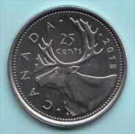 CANADA - 2015 Circulating 25¢ Coin (*) - Canada