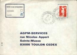 FRANCE - Enveloppe Voyagée En Poste Navale - Détaillons Collection - A Voir - Lot N° 20680 - Postmark Collection (Covers)