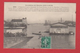 Sens   -- Inondation De Janvier 1910 - Sens