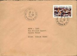 FRANCE - Enveloppe Voyagée En Poste Navale - Détaillons Collection - A Voir - Lot N° 20682 - Postmark Collection (Covers)