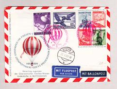 Österreich 29.10.1955 Ballonpost Nach Steyr - 1945-.... 2. Republik