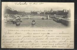 CARTOLINA 1900 PARIS LE PONT DES SAINTS PERES CARD CARTE POSTALE - Ponts