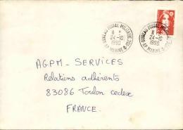 FRANCE - Enveloppe Voyagée En Poste Navale - Détaillons Collection - A Voir - Lot N° 20686 - Postmark Collection (Covers)