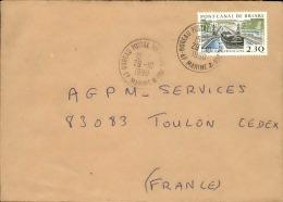 FRANCE - Enveloppe Voyagée En Poste Navale - Détaillons Collection - A Voir - Lot N° 20687 - Postmark Collection (Covers)