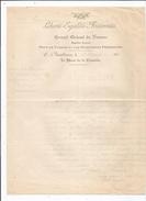 FRANC MACONNERIE LETTRE A ENTETE DU GRAND ORIENT DE FRANCE 1910 - Historical Documents