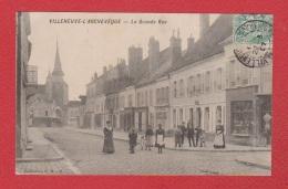 Villeneuve L Archevêque  --  Lagrande Rue - Villeneuve-l'Archevêque