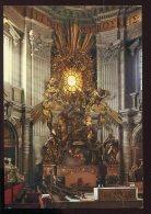 CPM Non écrite Cité Du Vatican Chaire De Saint Pierre Basilique Saint Pierre - Vaticano
