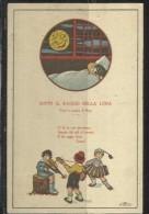 CARTOLINA 1928 SOTTO IL RAGGIO DELLA LUNA COLLEZIONE DI LUIGI FANTI - Unclassified