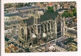 >> 57 - METZ : Vue Aérienne  De La Cathédrale - 1968 - - Metz
