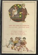 CARTOLINA 1928 COME UNA COPPA DI CHAMPAGNE COLLEZIONE DI LUIGI FANTI - Illustratori & Fotografie