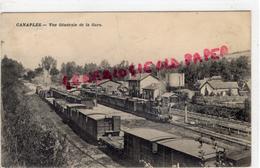 80 -  CANAPLES - VUE GENERALE DE LA GARE - 1913 - France