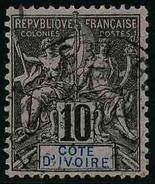 COTE D'IVOIRE - YT 5 - TIMBRE OBLITERE - Oblitérés