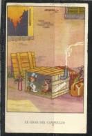 CARTOLINA 1943 LE GIOIE DEL CAMPEGGIO SGRILLI - Illustrators & Photographers