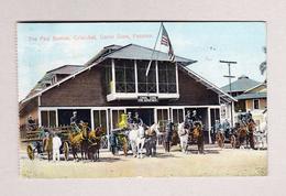 AK PANAMA Canal Zone Cristobal Fire Station Feuerwehr 8.12.1913 Nach Luzern Schiffpost Taxiert - Panama