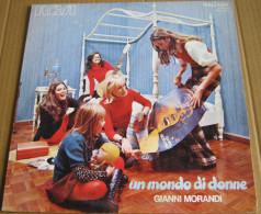 GIANNI MORANDI 1971 - RCA -N. 10517 PSL - UN MONDO DI DONNE (140616) - Disco, Pop