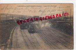 80 -  LONGPRE LES CORPS SAINTS- LIGNE PARIS BOULOGNE - GARE TRAIN -1917 - France