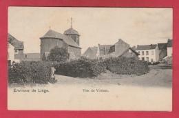 Vottem ... Une Vue  ... L'Eglise Et Maisons Environnantes ( Voir Verso ) - Herstal