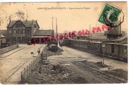 80 -  LONGPRE LES CORPS SAINTS- LIGNE ARRAS LE TREPORT - GARE TRAIN - 1912 - France
