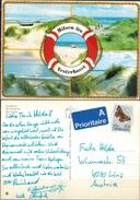 Dänemark Vesterhavet - 5 Strandansichten Gelaufen 1993 - Dänemark