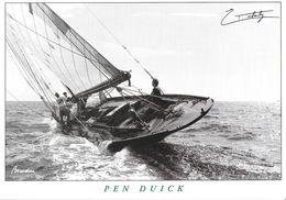 TRANSPORT BATEAU NAVIRE VOILIER NAVIGATION PEN DUICK ERIC TABARLY  EDIT. PETIT MOUSSE - Sailing Vessels