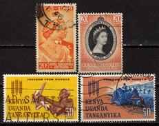 OSTAFR. GEMEINSCHAFT 1948 - 1963 - Lot 4x  Used - Kenya, Uganda & Tanganyika