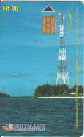 MALDIVES ISL. - Telecom Tower, CN : 323MLDGIM, Used - Maldives