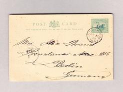 OZ Australien MULWARRIE 30.4.1903 Ganzsache 3p Nach Berlin - 1854-1912 Western Australia