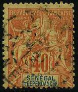 SENEGAL - YT 17 - TIMBRE OBLITERE - Senegal (1887-1944)