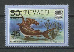 TUVALU 1981  N° 147 ** Neuf = MNH Superbe Cote 1 € Faune Poissons Requin Marteau Shark Fishes Animaux - Tuvalu