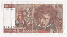 10 Francs Berlioz 6 7 1978 Alphabet P.306 N° 306 - 1962-1997 ''Francs''