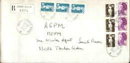 FRANCE - Enveloppe Voyagée En Poste Navale - Détaillons Collection - A Voir - Lot N° 20690 - Postmark Collection (Covers)