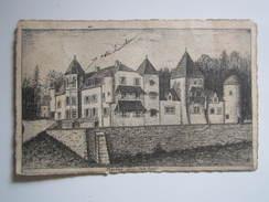 MERONA (Jura) (Sud-Ouest) - Oblitération OR - JEHAN ABET Par RIEC 1909 - France
