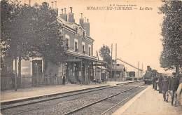71 - SAONE ET LOIRE - Gares Et Chemin De Fer / Romanèche Thorins - La Gare - Train - Sonstige Gemeinden