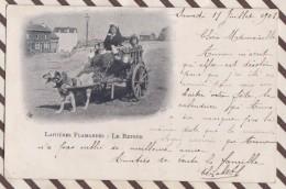 6AI4685 LAITIERES FLAMANDES LE RETOUR PRECURSEUR 1903 2 Scans - Belgique