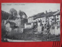 Valangin (NE) - Le Bourg Et Château / Hotel Du Château - NE Neuenburg