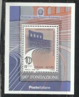 ITALIA REPUBBLICA ITALY REPUBLIC 2011 FESTIVAL LIRICO DELL'ARENA DI VERONA BLOCCO FOGLIETTO BLOCK SHEET MNH - 6. 1946-.. Repubblica