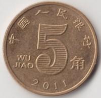 @Y@     China    5 Jiao  2011     (3922) - China