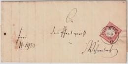 "1874, 3 Kr. "" VILLINGEN "", Luxus! , #6645 - Deutschland"